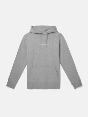 MIKE SMALL CHEST LOG hooded sweatshirt