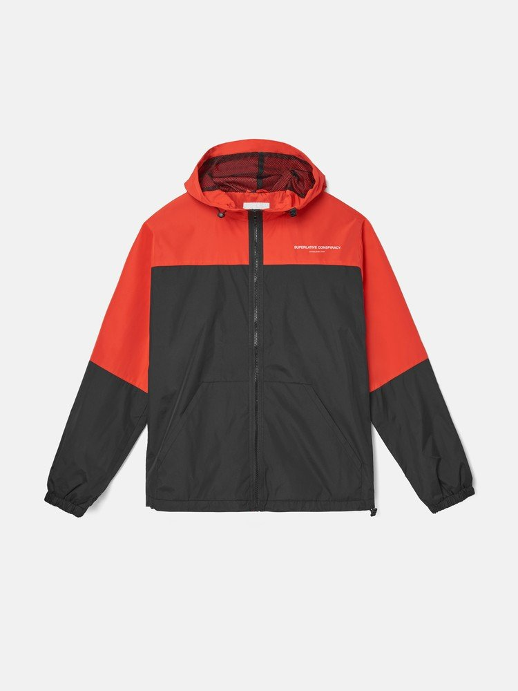 THE BLOCK WINDBREAKE jacket