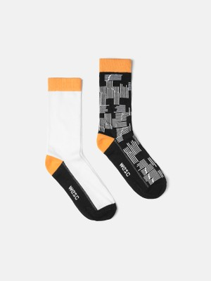 FASHION SOCK PUZZLE 2-pack