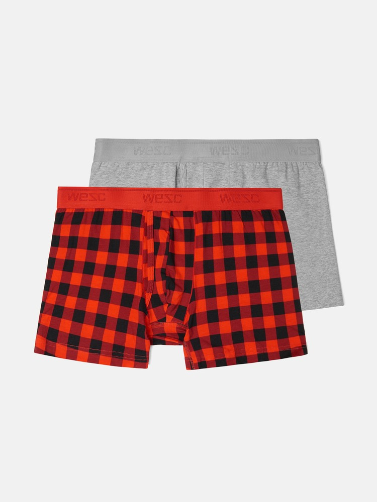 BOXER BRIEF PLAID 2-pack