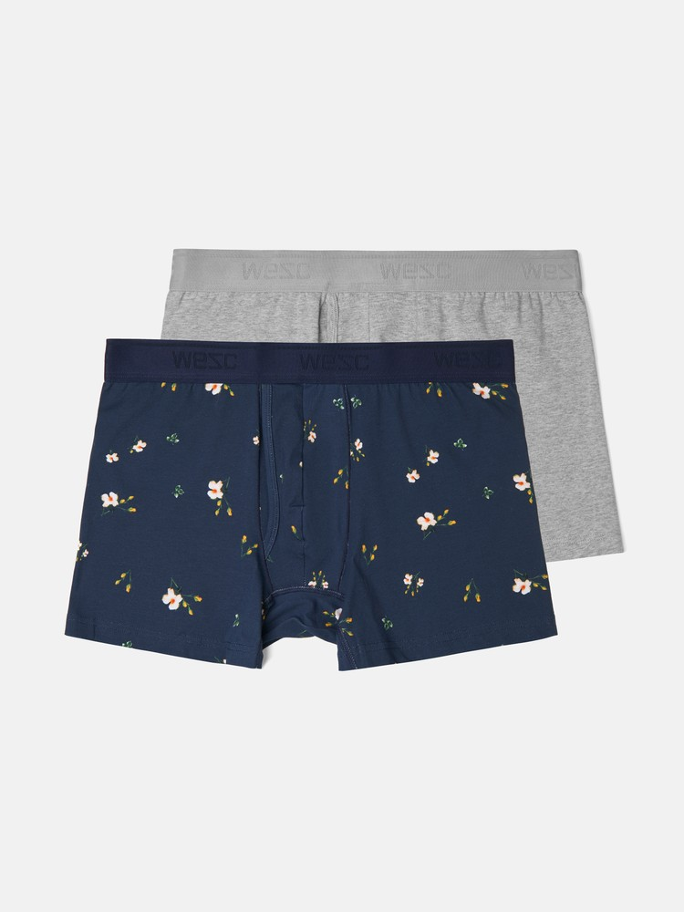 BOXER BRIEF FLOWER 2-pack