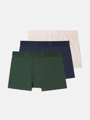 BOXER BRIEF SOLID 3-pack
